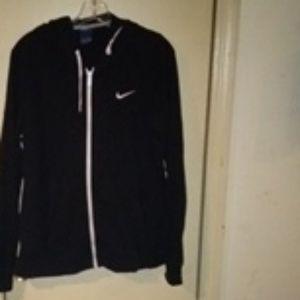 Nike Zip up hooded shirt